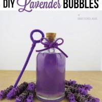 DIY Lavender Bubbles