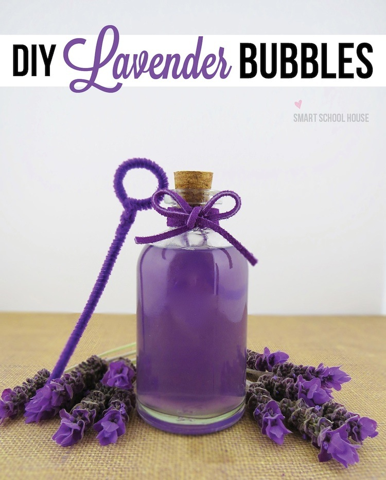 How to make bubbles! A fun lavender bubble tutorial