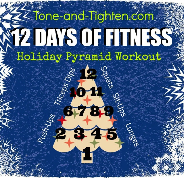12 Days of Fitness (for those of us that have committed to a healthier New Year)