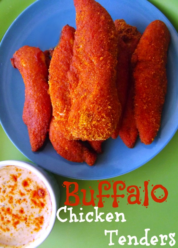 Buffalo Chicken Tenders for football food