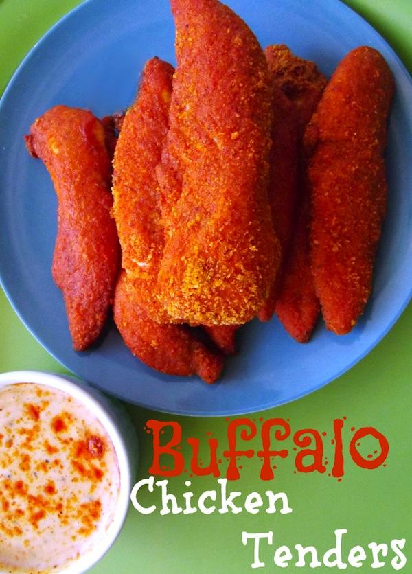 Buffalo Chicken Tenders for football food