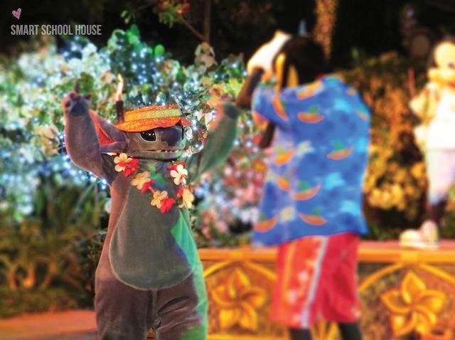 Starlit Hui at Disney's Aulani Resort in Hawaii