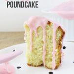 Pink Lemon Pound Cake