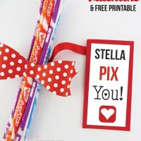 Pixy Stix Valentine and Printable