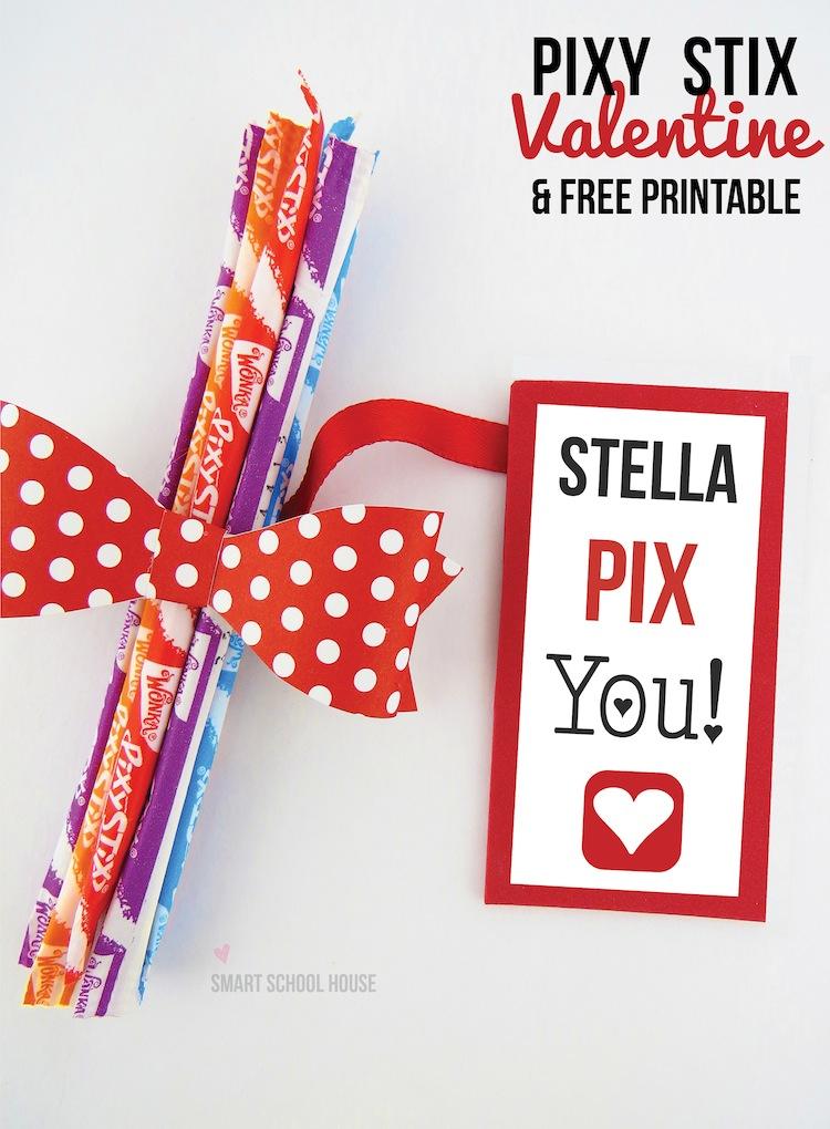 Pixy Stix Valentine A