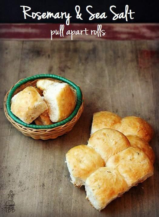 Rosemary & Seal Salt Pull Apart Rolls