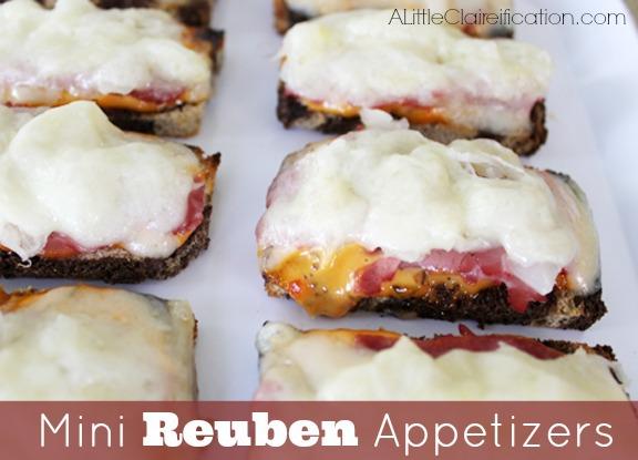 Mini Ruben Appetizers