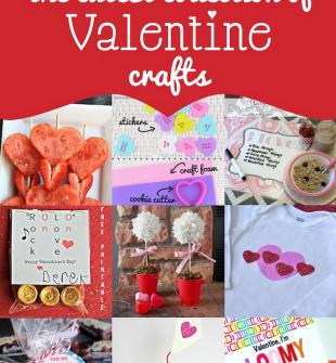 The cutest Collection of Valentines Crafts and Giveaway