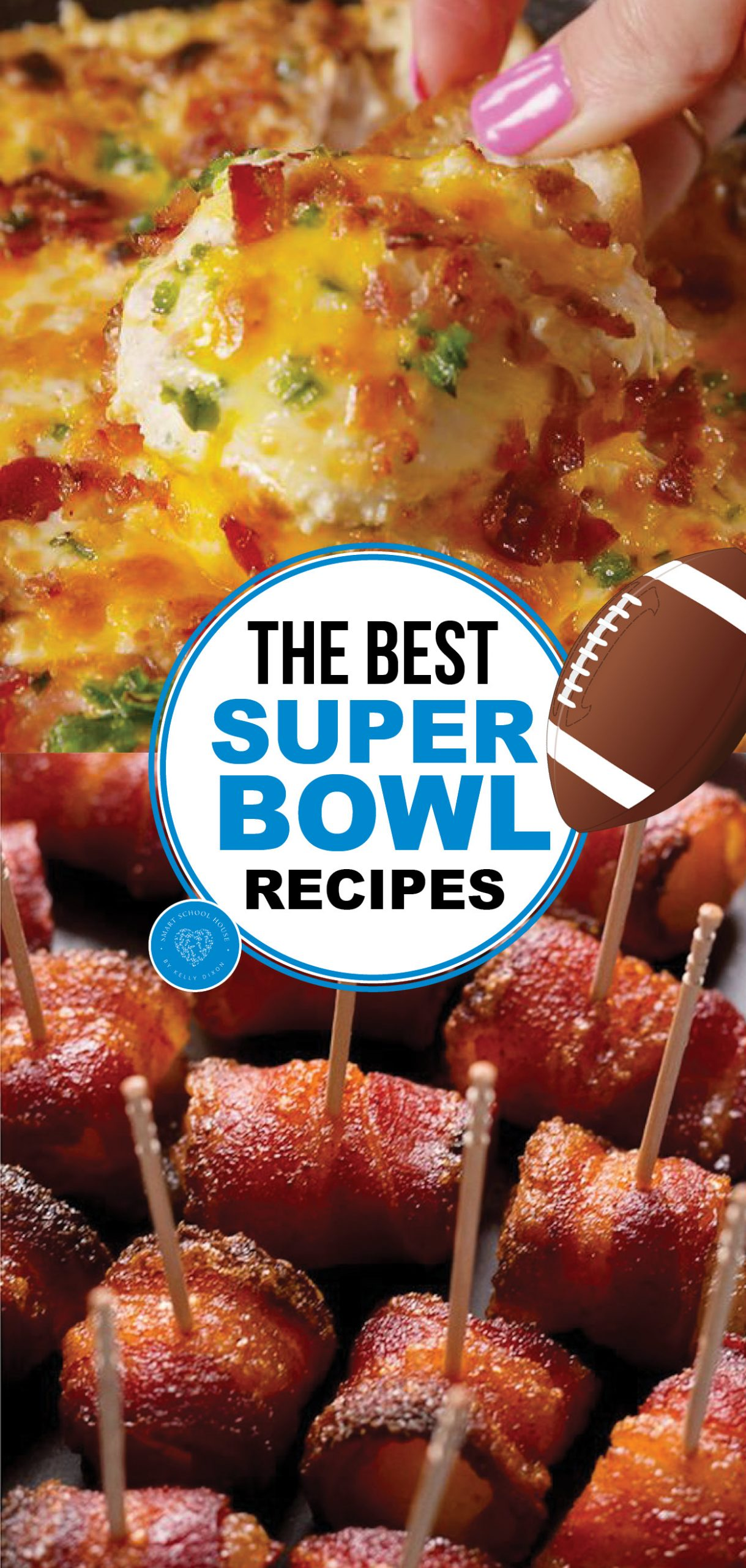 The Super Bowl is approaching: What will you eat? If you make any of these Super Bowl Recipes, we can ensure you'll have a living room full of happy guests.