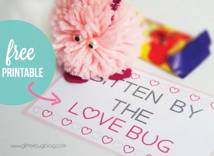 The LOVE BUG with free printable
