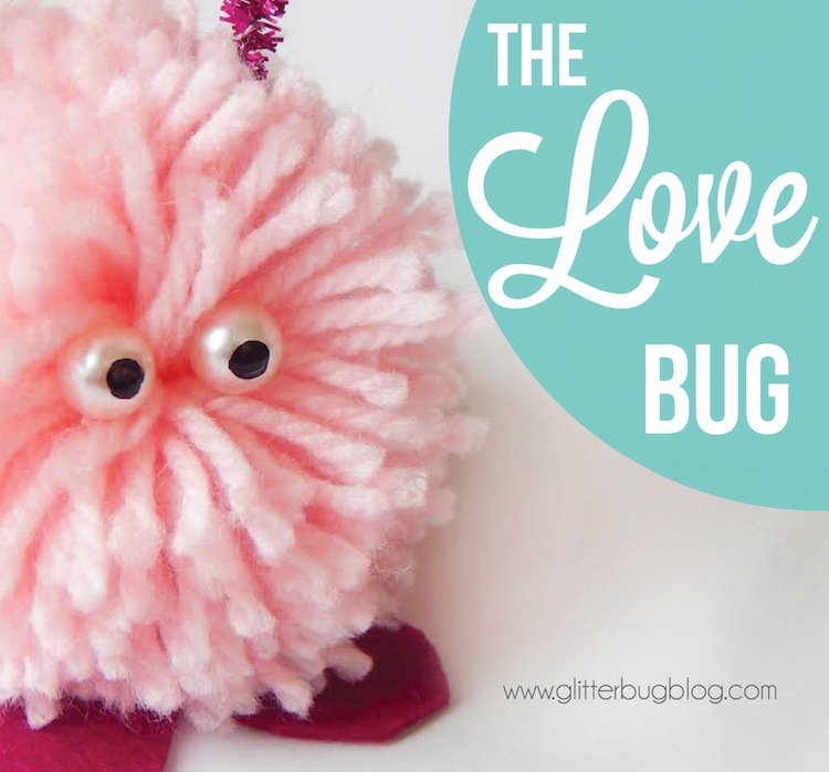 Love Bug Craft by www.GlitterBugBlog.com