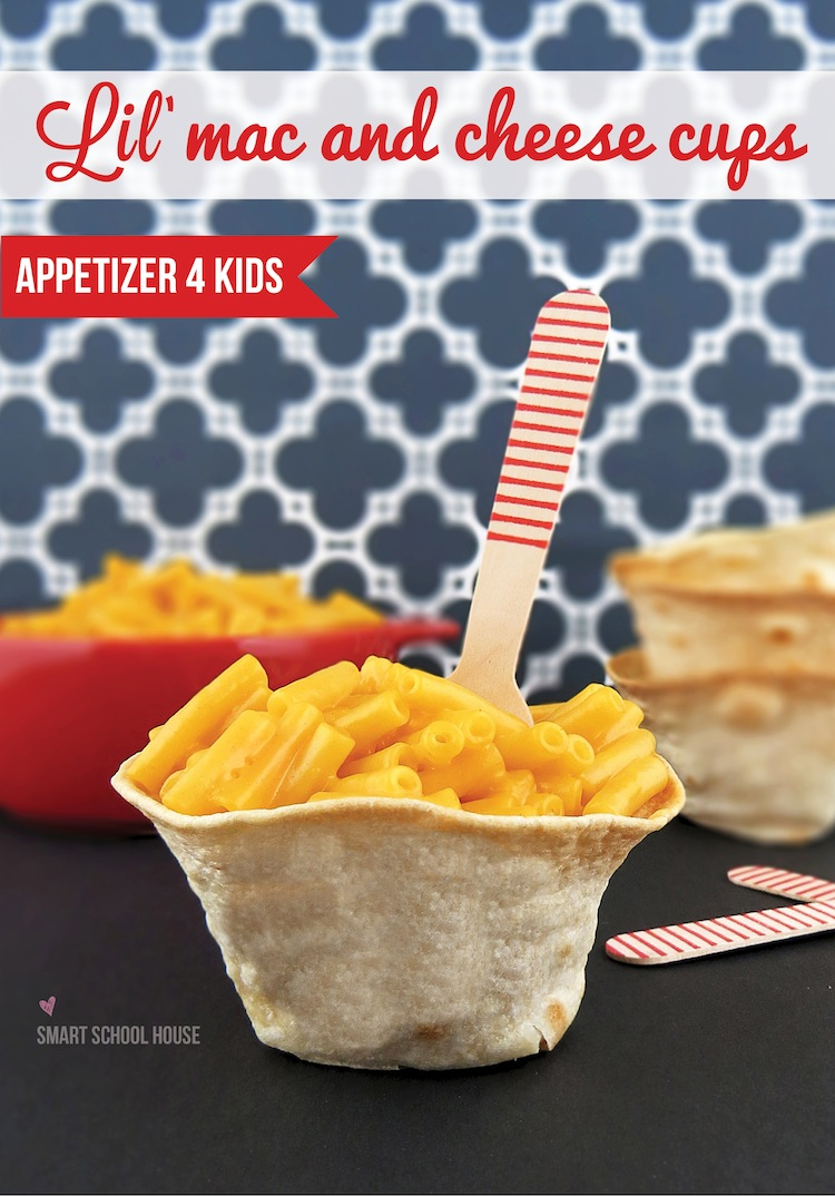 How to Make Lil' Mac and Cheese Cups- and appetizer for kids! #KraftyCooking