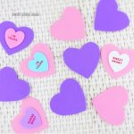 DIY Valentine Memory Cards