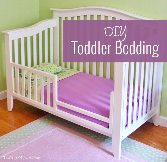 DIY Toddler Bedding