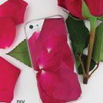 DIY Rose iPhone Case