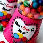 Bubble Gum Machine for Valentine's Day with a printable. I can't believe how easy this is to make!