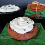 Chocolate Cookies with Peppermint Pattie Frosting