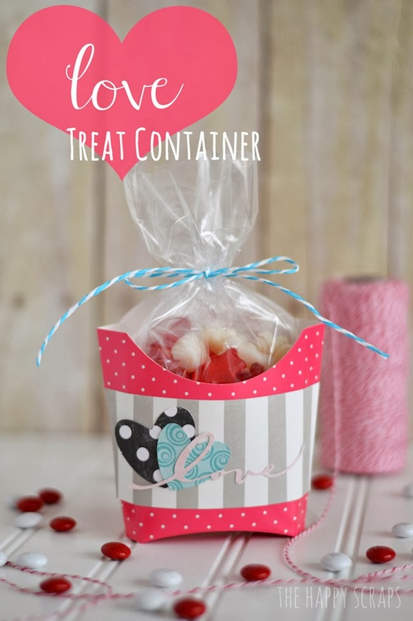 Love Treat Container by The Happy Scraps