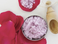 Rose Petal Sugar Scrub