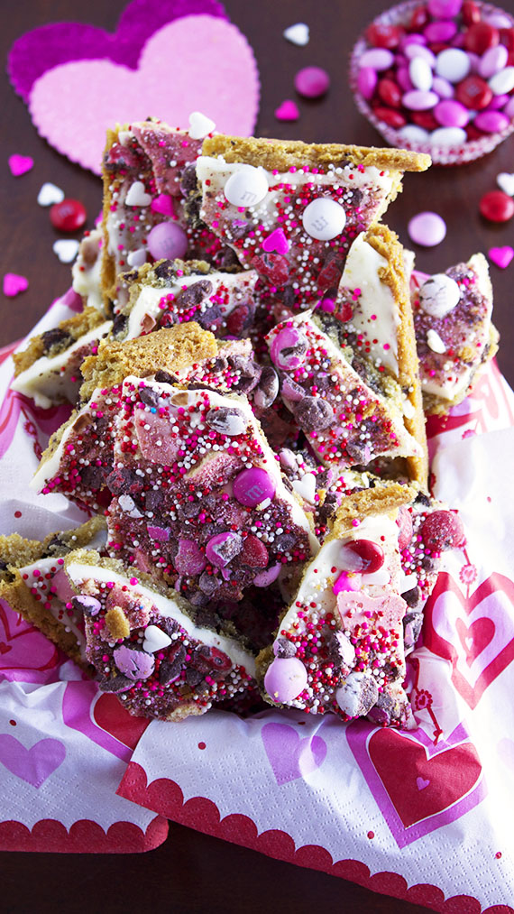 Chocolate Chip Cookie Bark by Deliciously Sprinkled