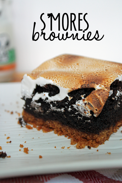 S'Mores Brownies by Unusually Lovely