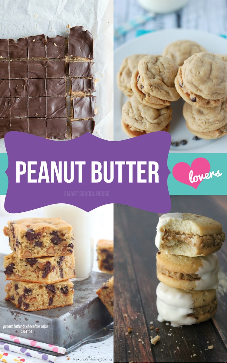 Peanut butter dessert recipes for Simple peanut butter dessert recipes