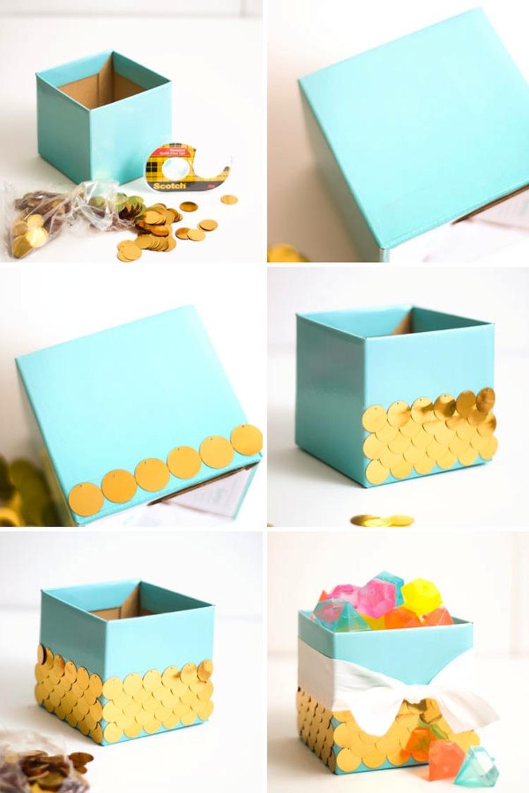 DIY Sequin Floral Arrangement by Confetti Sunshine