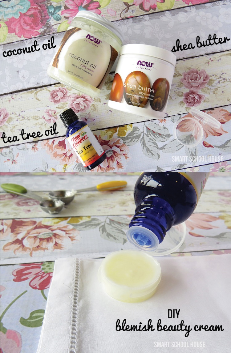 How to make a Blemish Beauty Cream. A simple tutorial that all girls love!