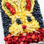 Fresh Fruit Bunny Platter