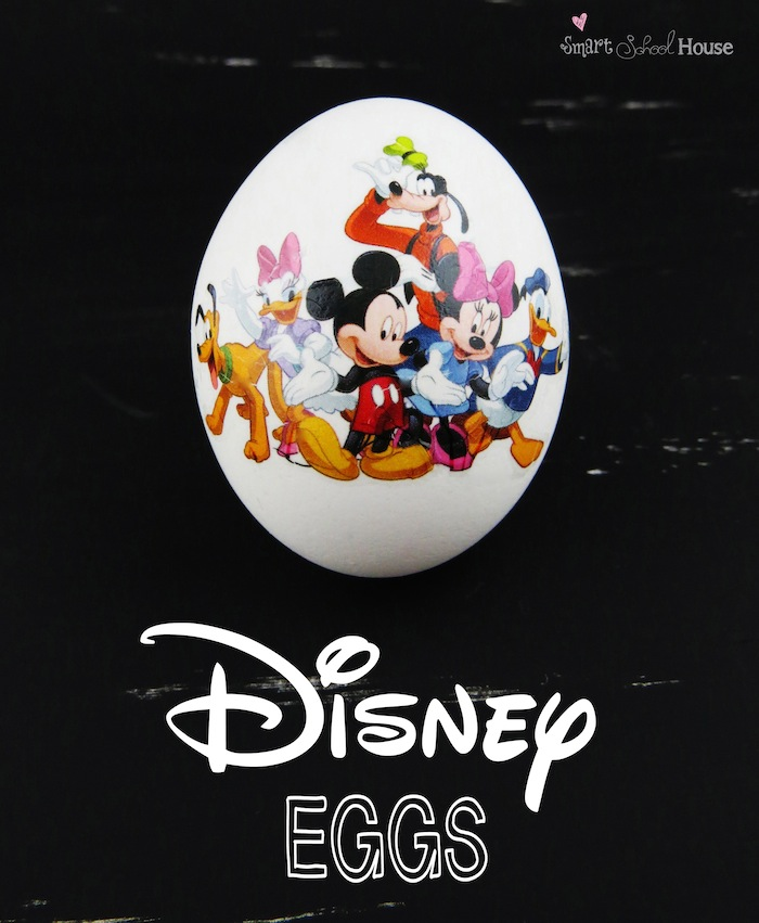 Super Easy to Make Disney Easter Eggs