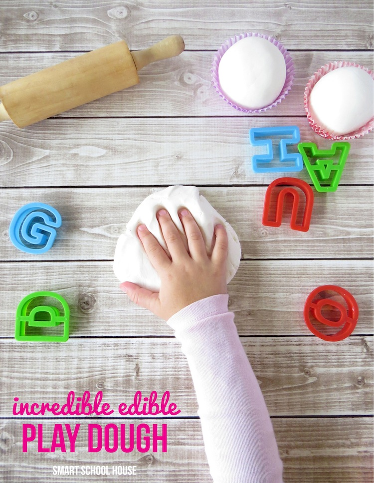 Incredible Edible Play Dough recipe (2 simple ingredients)