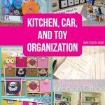 Organization Ideas: Kitchen Car and Toy Organization