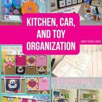 Organization Ideas: Kitchen Car and Toy Organization