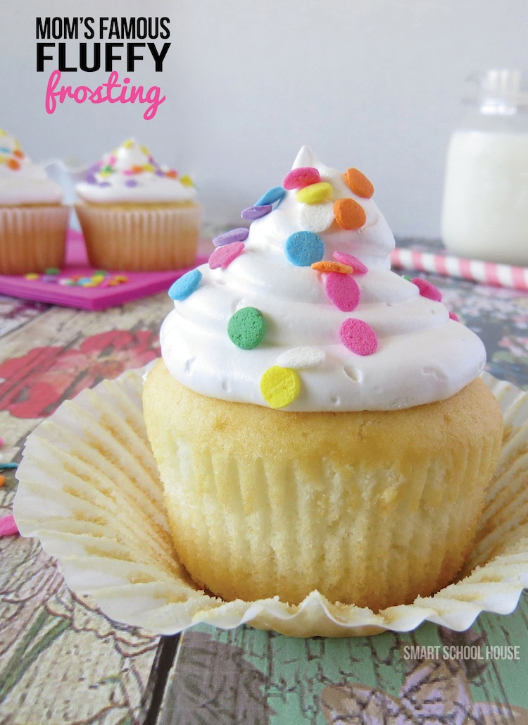 Mom's Famous Fluffy Frosting Recipe