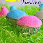 Peeps Frosting and Cupcake Recipe