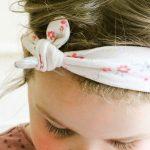 DIY knot bow headband