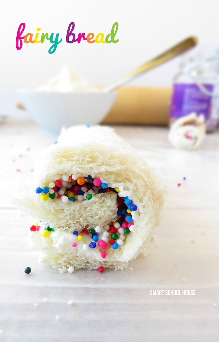 Fairy Bread Recipe. Just 4 Ingredients