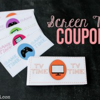Screen Time Coupons