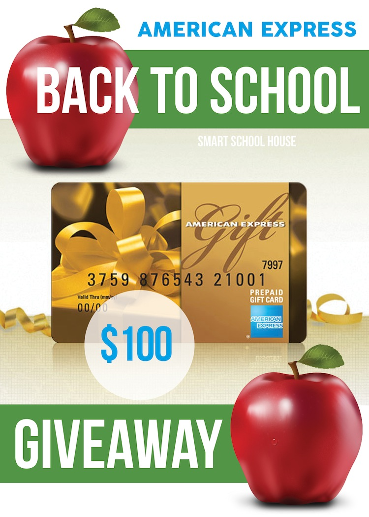 Back to School American Express Giveaway