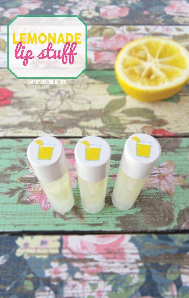 Lemonade Lip Stuff tutorial