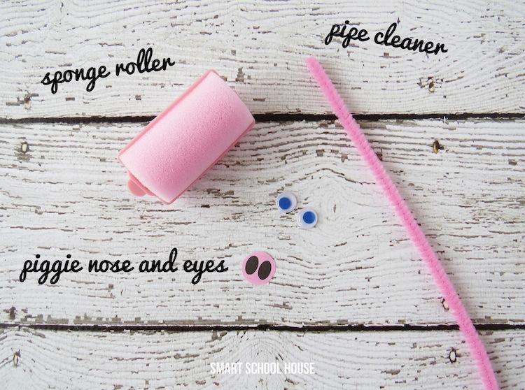 Sponge Roller Piggies4