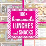 180 Homemade Lunch Ideas