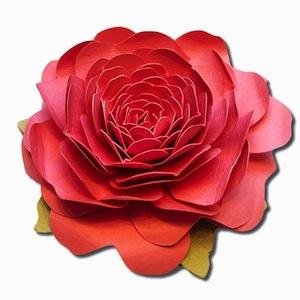 3d Camellia Flower