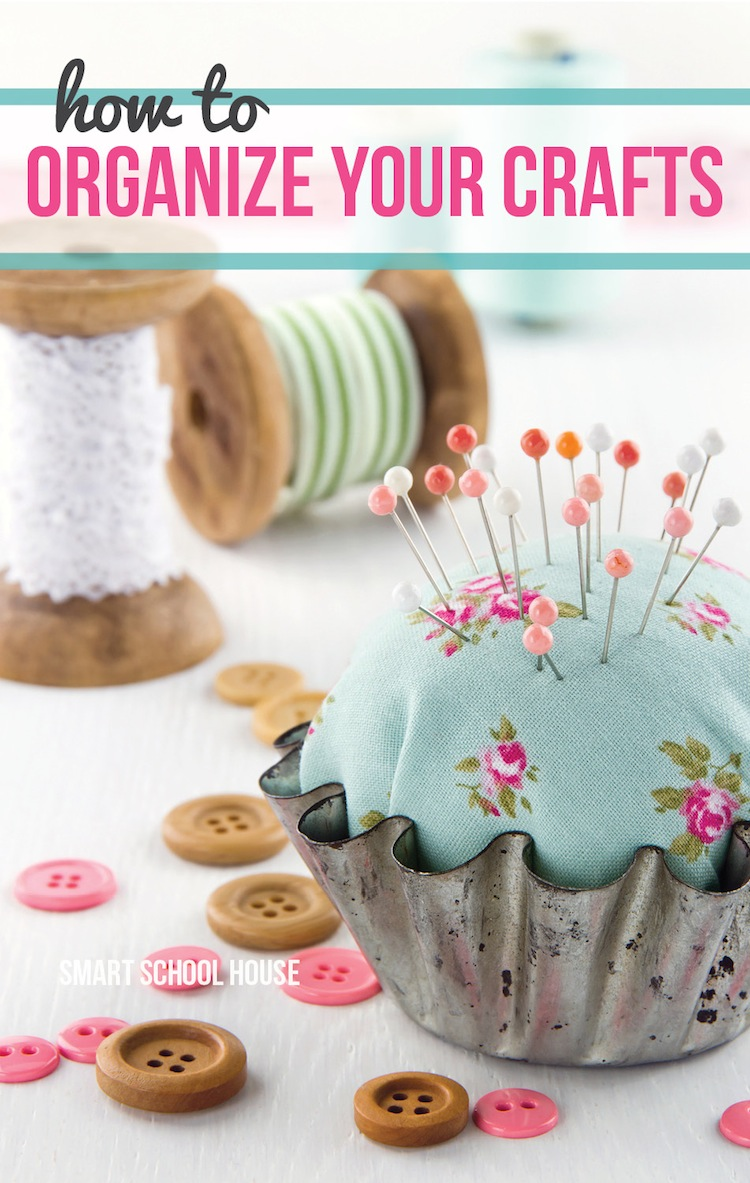 Organize your crafts for Get paid to make crafts