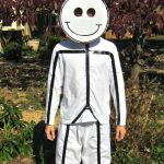 diy stick figure costume