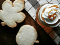 APPLE CIDER AND SHORTBREAD COOKIES