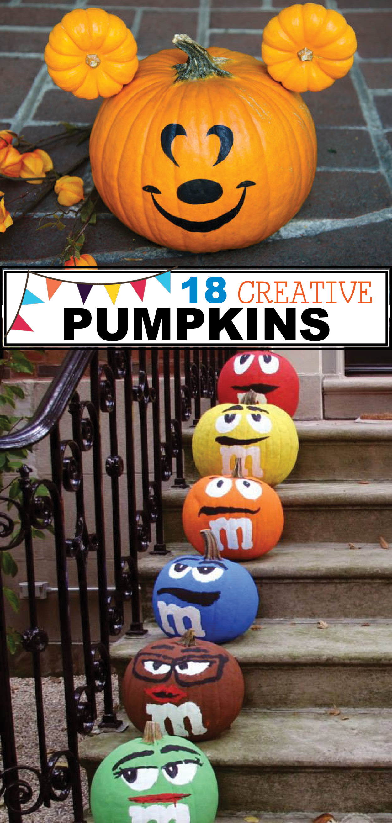 18 Creative Pumpkin Ideas