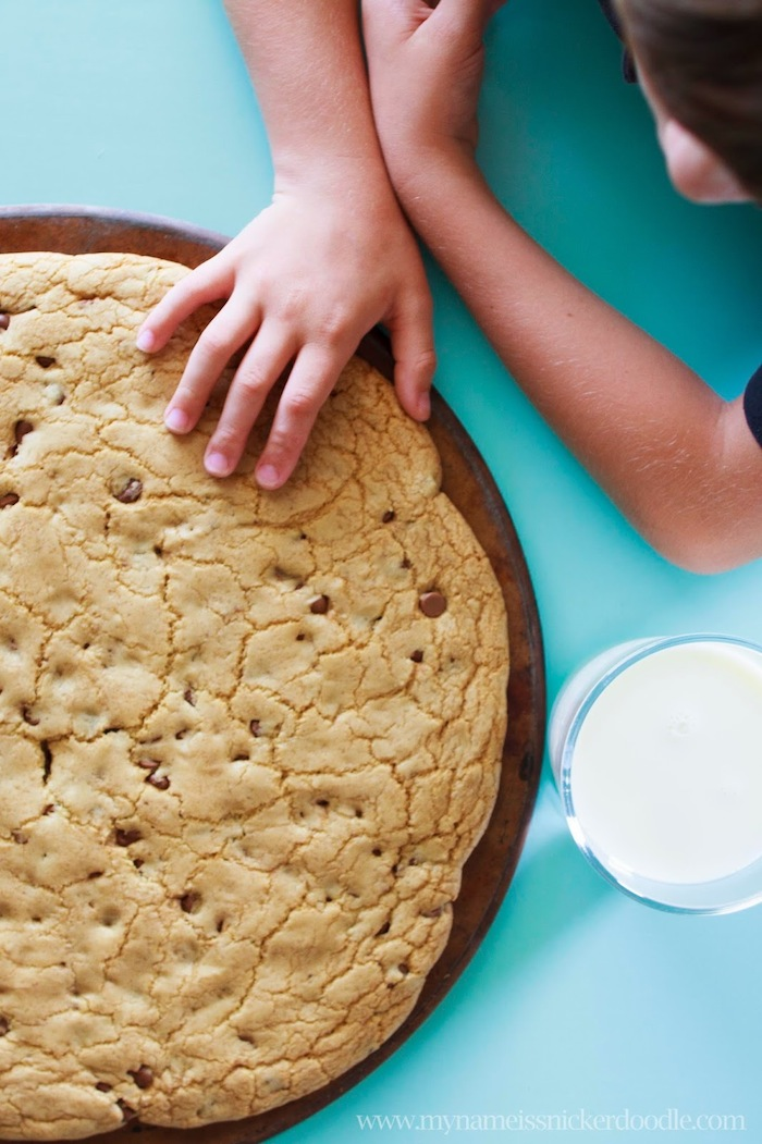 Giant cookie recipe