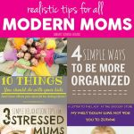 Tips for Modern Moms