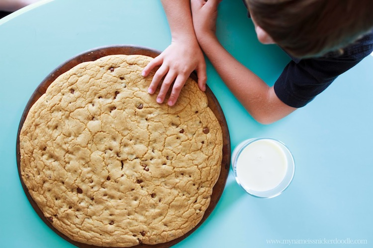 Giant Cookie Recip..